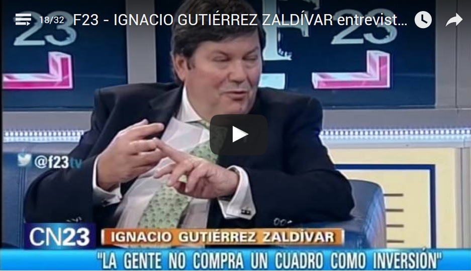 Entrevista a Ignacio Gutiérrez Zaldívar en F23