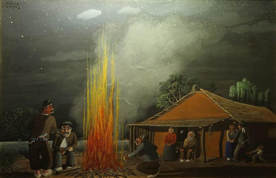 Molina Campos, el más argentino de nuestros pintores por Ignacio Gutiérrez Zaldívar
