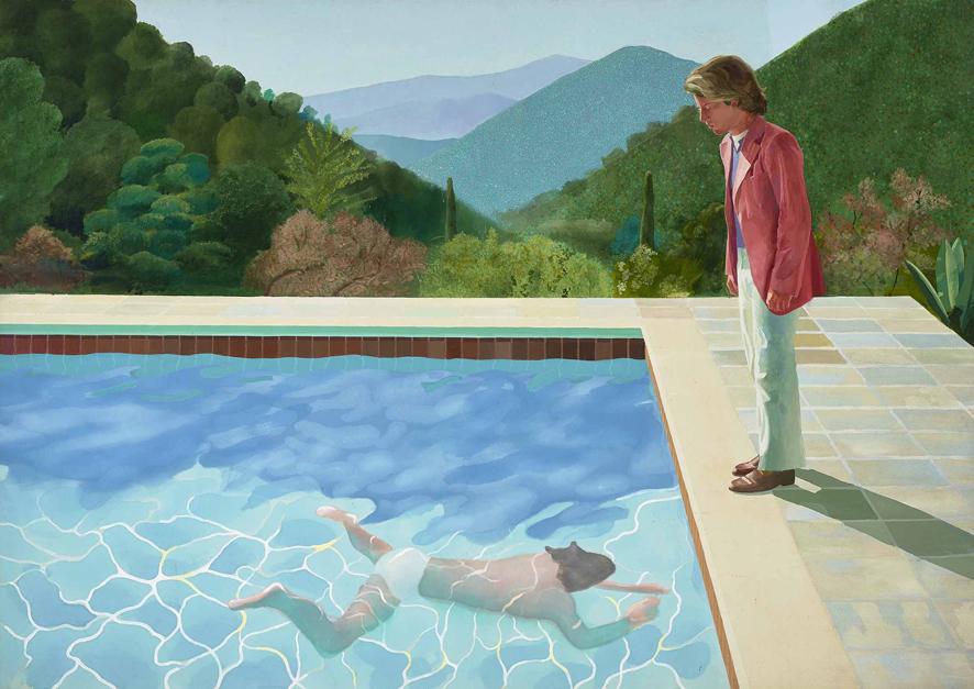 David Hockney por Ignacio Gutiérrez Zaldívar