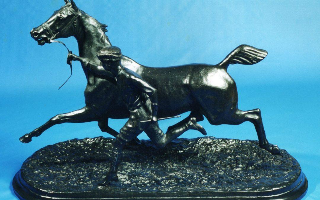 """Palafrenero"", la gran escultura del Conde Du Passage"