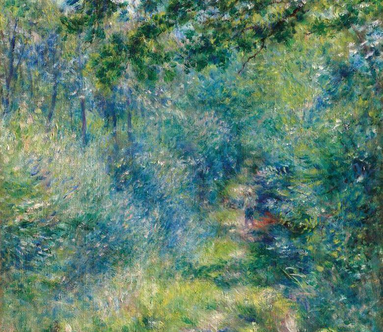 Auguste Renoir por Ignacio Gutiérrez Zaldívar