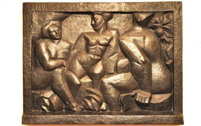 Las Tres Bañistas de Pablo Curatella Manes