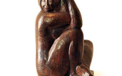 """""""Mujer Sentada"""", un guiño a las obras que mejor lo representan"""