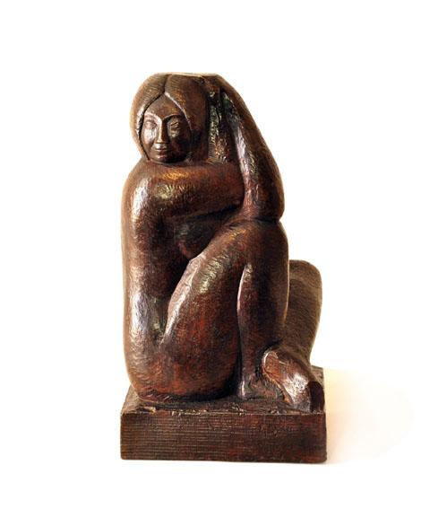 «Mujer Sentada», un guiño a las obras que mejor lo representan
