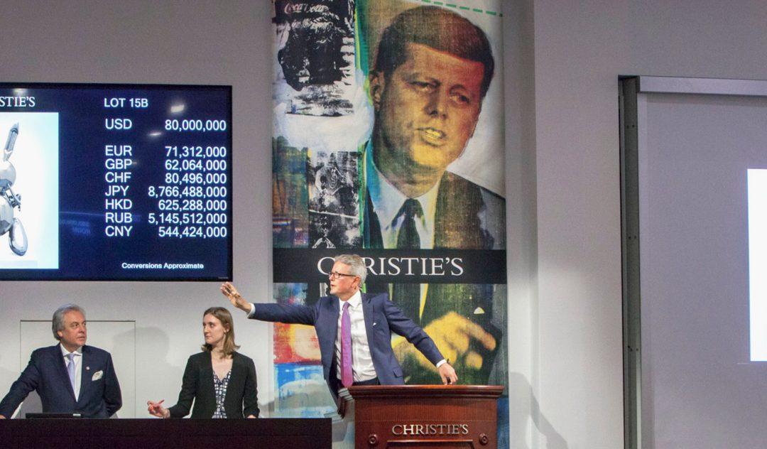 Récord de ventas en Sotheby's y Christie's por Ignacio Gutiérrez Zaldívar