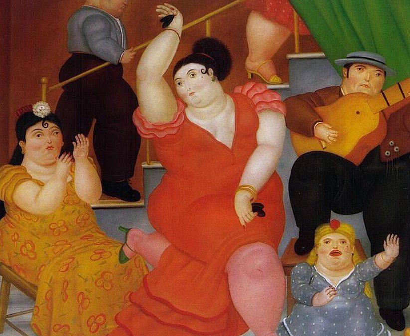 Las estrellas Botero y Frida Kahlo por Ignacio Gutiérrez Zaldívar