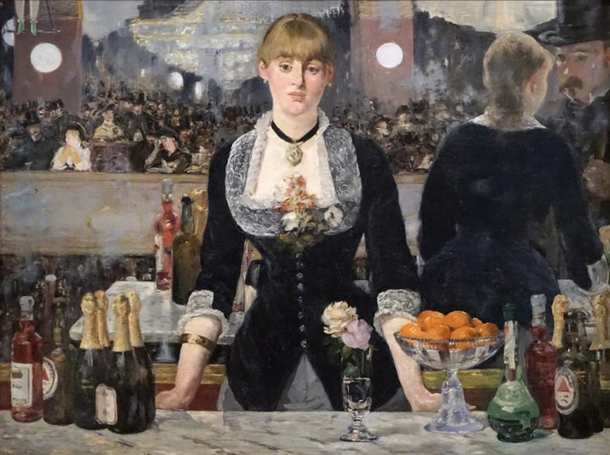 Édouard Manet por Ignacio Gutiérrez Zaldívar