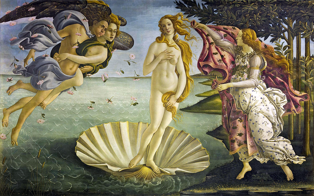 Sandro Botticelli por Ignacio Gutiérrez Zaldívar