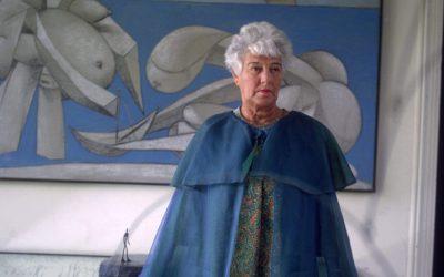 Peggy Guggenheim por Ignacio Gutiérrez Zaldívar