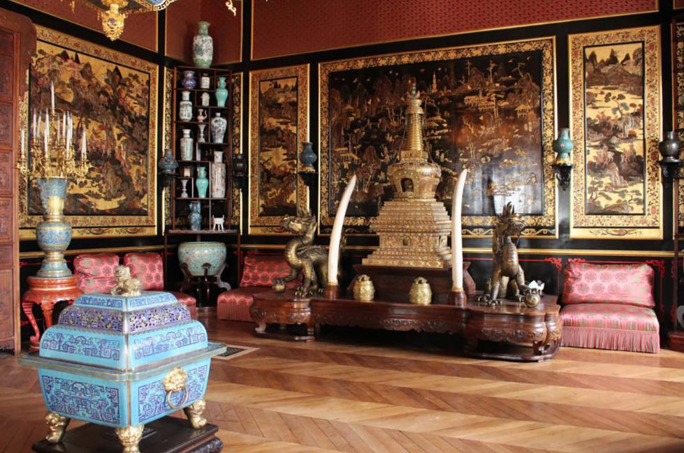 Saqueos y robos de arte asiático por Ignacio Gutiérrez Zaldívar